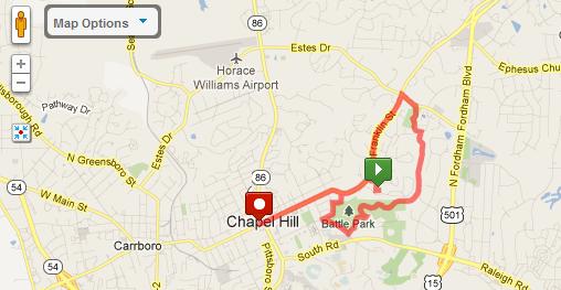 Map My Run Running Website Unc Campus Rec